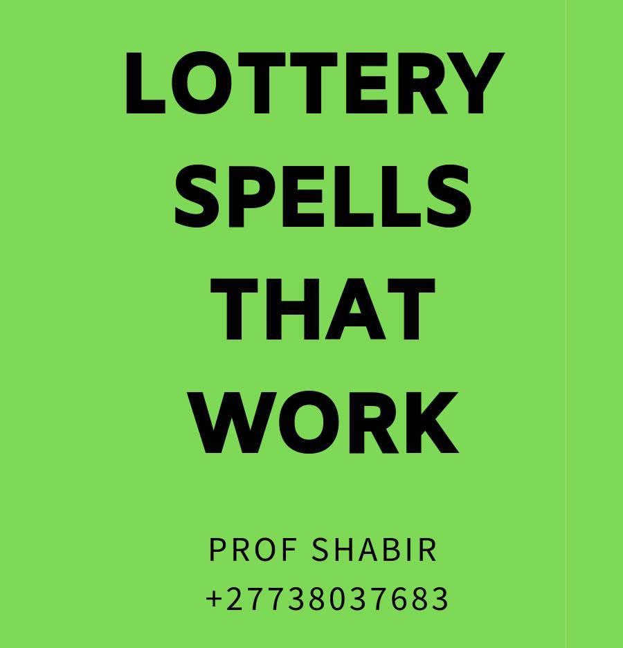 Lottery Spells That Work | Lottery Spells | Powerful Love Spells