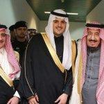 بالصور:خادم الحرمين الشريفين يشرف زواج فواز بن سلطان