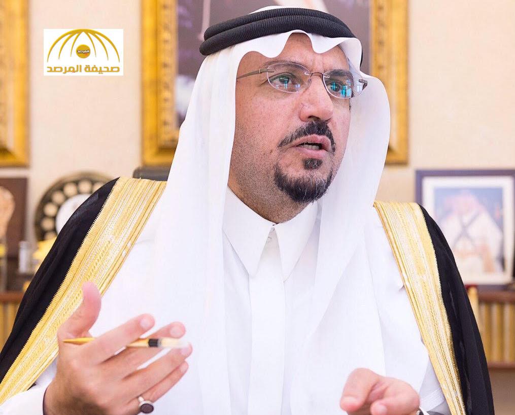 """أمير القصيم : حادثة تفجير مسجد""""الرضا"""" بالأحساء سيزيد من التلاحم بين أبناء الوطن"""