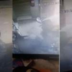 شاهد: شاب يسرق مبلغ مالي من محل تموينات غذائية بالمدينة