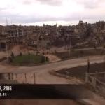 بالفيديو:شاهد كيف أصبحت  مدينة حمص السورية