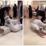 بالفيديو:«مشاجرة ساخنة» بين شخصين في مركز تجاري بالكويت