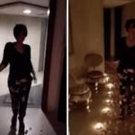 بالفيديو:شمس تحتفل بعيد ميلادها بطريقة اثارت استغراب جمهورها