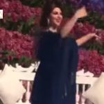 بالفيديو : ميريام فارس تشعل عرساً بالرقص الخليجي
