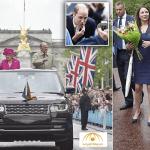 بالصور:هكذا احتفلت ملكة بريطانيا بعيد ميلادها الـ90