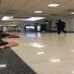 """بالفيديو:فوضى وهلع بمطار لوس انجلوس الأمريكي بعد """"إنذار كاذب"""""""