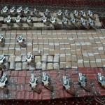 دوريات المجاهدين بقطاع الداير في جازان تحبط تهريب أسلحة و ذخيرة