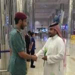 صور استقبال موظفي مطار دبي للسعوديين تثير إعجاب رواد مواقع التواصل الاجتماعي