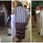 بالفيديو: ولي أمر طالب يدخل مدرسة بالمشعاب لضرب معلم