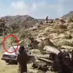بالفيديو: مواطن يطلق النار على رأس جمل قبل نحره !