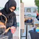 """بعد إزالة بسطة""""بائعة الشاي"""" من قِبل البلدية سلطان بن سلمان يوجه بتخصيص ركن دائم لها"""