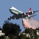 """بالصور:هل ستستطيع """"سوبر تانكر"""" إخماد حرائق إسرائيل؟"""
