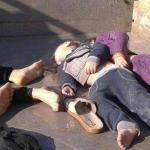 """بالفيديو..المجرم """"بشار الأسد"""" يرتكب مجزرة مروعة جديدة ويبيد أطفال إدلب بالكيماوي"""