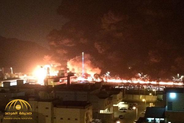 الدفاع المدني يصدر بياناً حول ملابسات احتراق ناقلة نفط على طريق مكة جدة السريع