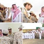 بالصور .. وزير الثقافة والإعلام يلتقي الجنود المرابطين في الحد الجنوبي ويشاركهم الإفطار