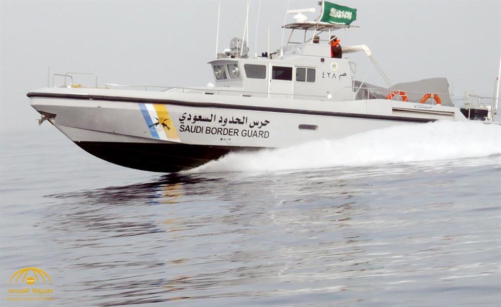 القوات البحرية السعودية تلقي القبض على زورق محمل بالأسلحة داخل  المياه الإقليمية للمملكة