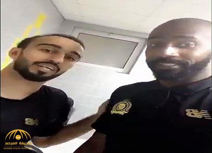 بعد واقعة الاشتباك مع لاعب الفيصلي..شاهد:وليد عبدالله للسهلاوي:ما طقيته إلا عشانك..والأخير: يرد!