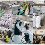 """شاهد .. 20 صورة عن """"الحج والحجاج"""" بعدسة وكالة الأنباء السعودية اليوم الخميس"""