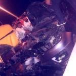"""""""شاهد"""" تعرّض الفنان ملحم زين لحادث سير مروع مع شاحنة .. وهذه حالته الصحيّة"""