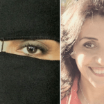 """تعرف على """"هندة العياري """"السيدة  التي خلعت حجابها بعد 21 عاماً مع السلفية..واتهمت """"حفيد البنا"""" باغتصابها-صور"""