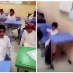 """شاهد معلم يصدم طلابه .. """"تذاكرون ولا ما تذاكرون.. وظايف ما فيه""""!"""