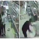 شاهد..اعتداء عنيف من يمني على مواطن داخل بقالة يثير الجدل على تويتر!