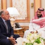 ولي العهد يستعرض مع ممثل رئيسة وزراء بريطانيا الفرص الاستثمارية في المملكة