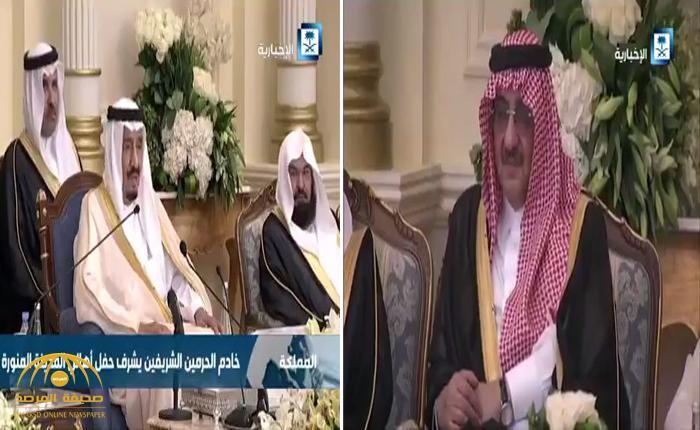 """شاهد .. الكاميرا ترد على """" شائعة"""" وضع الأمير """"محمد بن نايف"""" تحت الإقامة الجبرية"""
