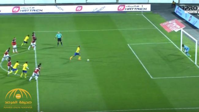 بالفيديو : النصر يسحق الرائد بخمسة أهداف دون مقابل