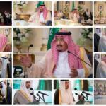 بالصور : خادم الحرمين يشرف حفل استقبال أهالي المدينة المنورة ويدشن عدداً من المشروعات التنموية