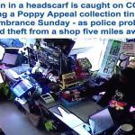 شاهد : محجبتان تسرقان أموال التبرعات من محلات تجارية بانجلترا