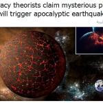 نظرية المؤامرة : زلزال يدمر الأرض غدًا الأحد