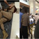 شاهد فيديو وصور : مقتل رجل أمن داخل مركز تجاري في مسقط بعمان