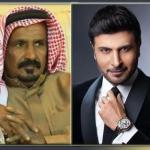 """سر وضع صورة الشاعر الراحل """"سعد بن جدلان"""".. بجانب المغني ماجد المهندس!-فيديو"""