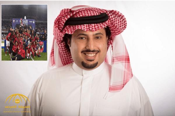 بعد فوزه ببطولة السوبر.. تركي آل الشيخ يقدم هدية 2 مليون جنيه للأهلي المصري!