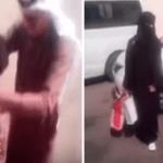 بالفيديو: سعودي يفاجئ زوجته المتخرجة بحفل رومانسي في الشارع.. شاهد ماذا قدم لها وما كتبه على السيارة!