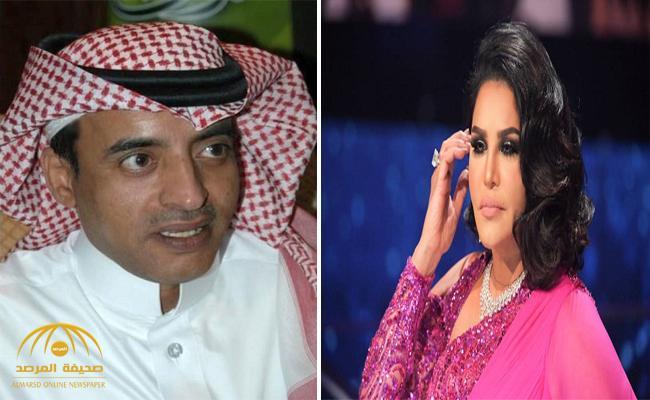 صحافي سعودي ينشر خبراً عن الفنانة أحلام ويتراجع عنه .. والأخيرة تهدده