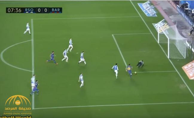 بالفيديو : بعد 11 عاما .. برشلونة يكسر عقدة ملعب أنويتا و يسحق ريال سوسييداد بأربعة أهداف