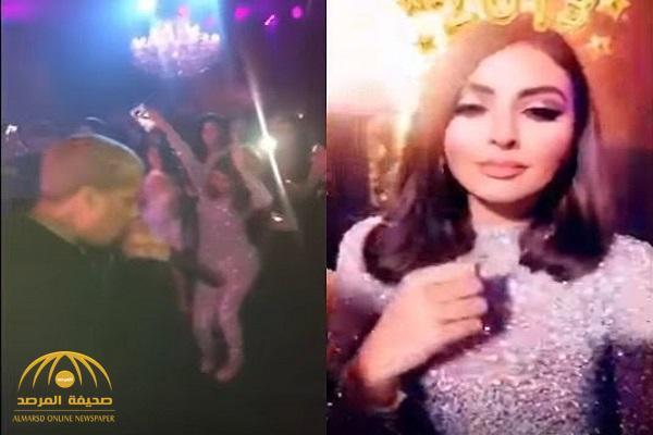 """بعد وصف شقيق حسين الجسمي لها بـ""""العاهرة"""".. شاهد : مريم حسين ترقص وسط الشباب في ملهى ليلي !"""