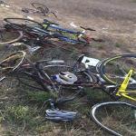 بالصور .. وفاة عدد من فريق دراجات اليرموك بأبو عريش في حادث دهس مروع