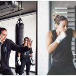 """بالصور: تعرف على """"هالة الحمراني""""  أول مدربة سعودية في الملاكمة!"""