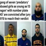 بريطانيون من أصل باكستاني  يتناوبون على اغتصاب فتيات داخل سيارة في بريطانيا .. والكشف عن أسمائهم !-صور