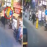 شاهد: ثور يتتبع فتاة من الخلف.. وينطحها بقوة ويطيرها في الهواء!