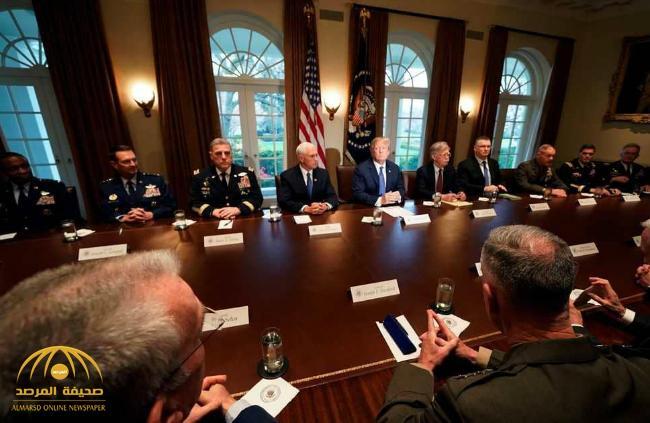 ترامب يصّعد .. اجتماعات حاسمة وتفويض ضربة سوريا قائم