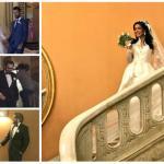 """بالصور والفيديو : الفنانة """"مروة سالم"""" تحتفل بزفافها على الناقد الفني """"محمد سلامة """""""