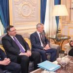 ولي العهد يلتقي وزير الاقتصاد والمالية الفرنسي