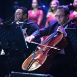 """بالصور : فرقة الأوبرا المصرية تعزف روائع الطرب في """"مفتاحة"""" أبها"""