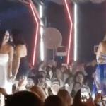 """شاهد : ممثلة مصرية  """"تشتم"""" متابعيها بعد سخريتهم  من رقصها على أغنية """"مجانين"""" في حفل """"الجونة """" السينمائي"""