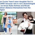 ديانة توم كروز تمنعه من لقاء ابنته منذ سنوات!
