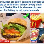 أحذر من البرغر الخاص بك  .. كل سلاسل المطاعم تستخدم ماشية تم حقنها باستثناء هذا !